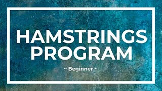 EasyFlexibility - Hamstrings Program (Beginner)