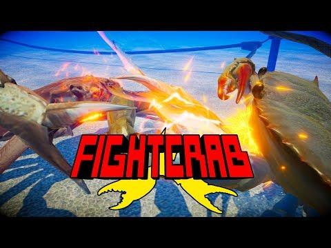 Fight Crab – эпичные схватки огромных крабов с применением бензопил