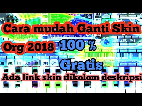 Cara ganti Skin org 2018 Bagi Pemula