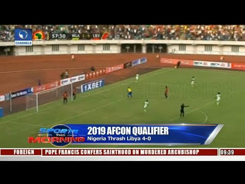Analysts Discuss Nigeria's Victory Against Libya AFCON Success Pt.2 |Sports This Morning|