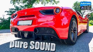 Ferrari 488 Spider (670hp) - pure SOUND (60FPS)