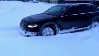 Audi A4 allroad part 2(Зимний драйв Audi Quattro., 2012-03-02T22:06:39.000Z)
