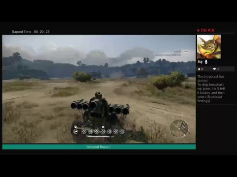 Crossout PS4 Custom Creations Test