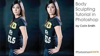 How to Reshape a body and remove fat in Photoshop. Retouching Tutorial