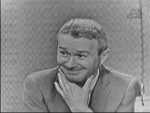 What's My Line? - Eamonn Andrews hosts! Red Buttons; Martin Gabel [panel] (Jun 28, 1959)