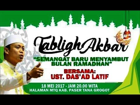 🕌 Ceramah Bugis No.49 Semangat Baru Menuju Bulan Ramadhan. Kamis,18/5/17 ~ Utz. Dr. H. Das'ad Latif
