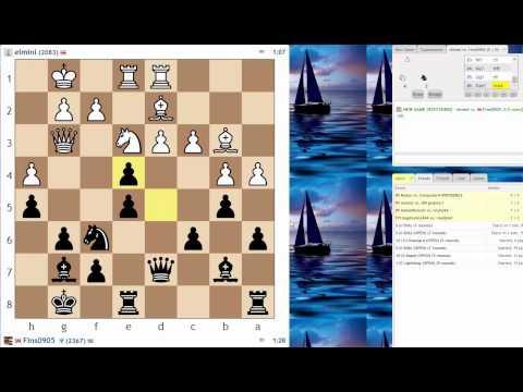 Blitz Chess #14: elmini vs. IM Bartholomew (Ruy Lopez - Breyer Variation)