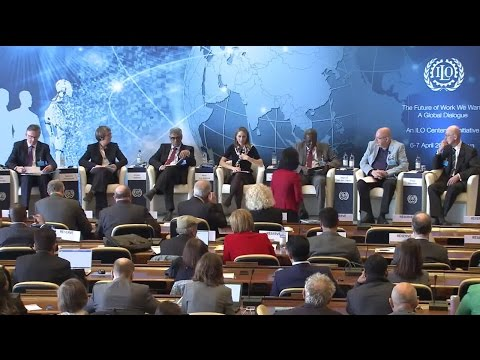 A Global Dialogue on Future of Work: Work and Society
