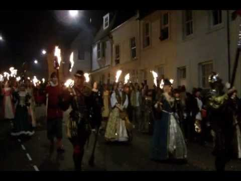 Lewes Bonfire Night , November the 5th 2011, Guy Fawkes - Full procession coverage !!!