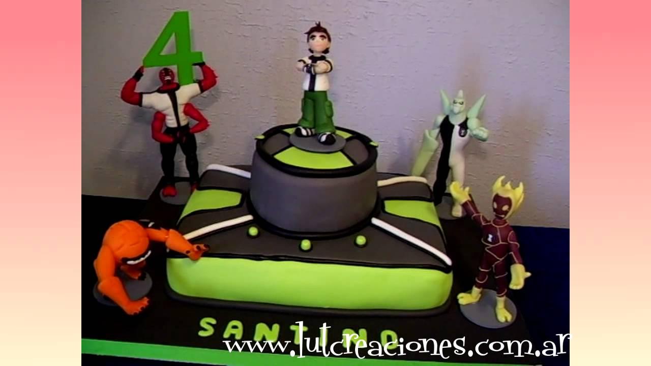 Torta Decorada Ben Diez - Lut Creaciones Tortas Decoradas - YouTube