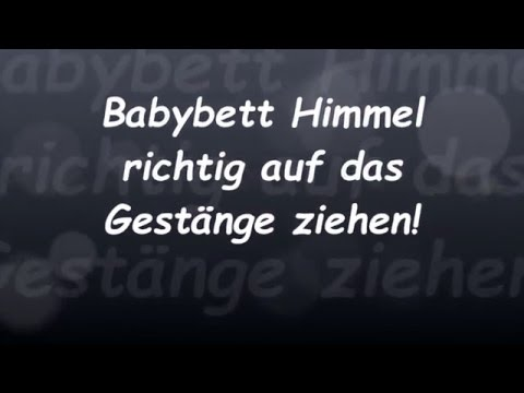 babybett himmel richtig befestigen reborn baby deutsch little reborn nursery youtube. Black Bedroom Furniture Sets. Home Design Ideas