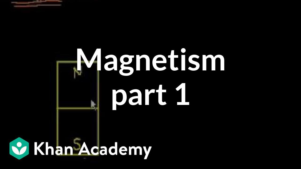 Magnetism - Part 1 (video) | Magnetism | Khan Academy