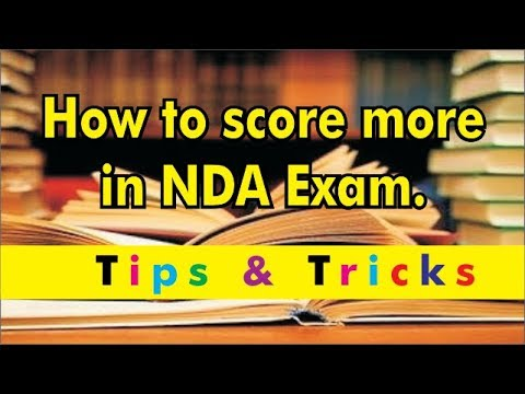 How to Score MORE in NDA-2018 Tips & Trick