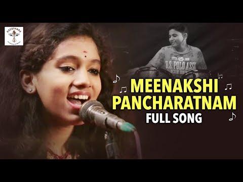 Meenakshi Pancharatnam Full Song - Parthu Nemani || Keerthana Academy