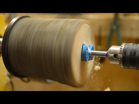 """Test набор 10 сверл Forstner From Aliexpress + патрон NOVA G3 Wood Turning Chuck ( 1""""8TPI )"""
