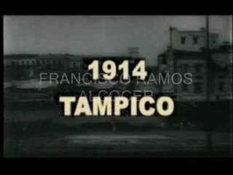 PELICULAS FILMADAS EN TAMPICO  1915 DESDE LA ADUANA