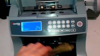 Счетчик банкнот Cassida 7000 UV(, 2012-09-22T11:05:11.000Z)