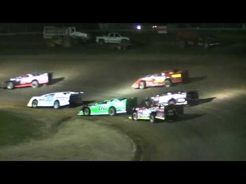 RUSH Crate Late Model B-Main Two | McKean County Raceway | Fall Classic | 10.11.14