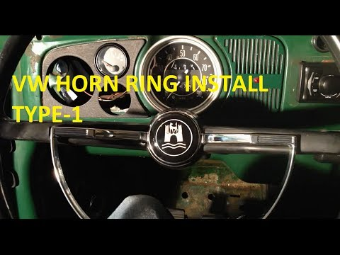 Vw Aircooled Horn Ring Install