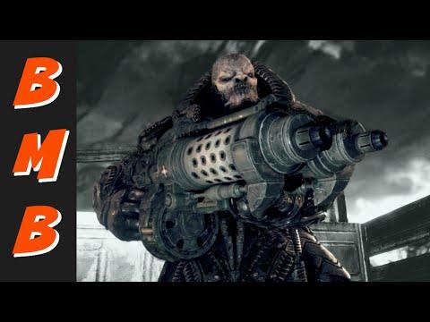 Gears Of War Ultimate Edition - General RAAM Boss Fight / Train Boss Walkthrough / #GearsOfWar