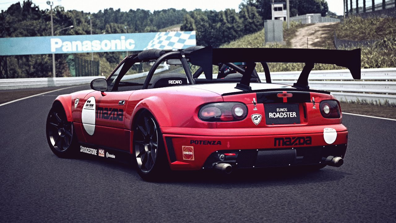 Gt6 Mazda Roadster Touring Car Exhaust Video Youtube