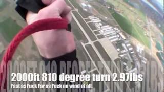 The Petra 69 Project: NZ Aerosports new HP canopy flown by Nick Batsch