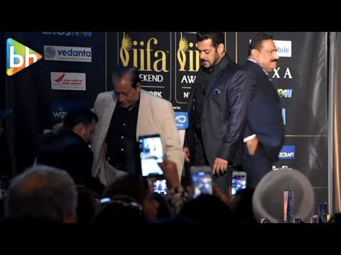Salman Khan's SWEETEST Gesture For An Old Man | IIFA 2017 Press Conference