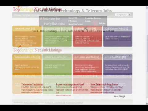 Free Job Posting for Telecom and Tech Jobs