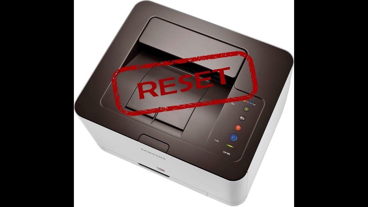 samsung clp 365 toner reset firmware