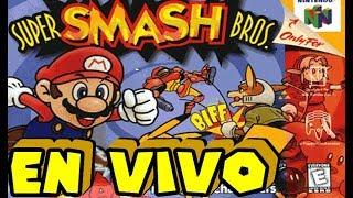 ¡EN VIVO! Super Smash Bros 64 - Campaña Singleplayer Completa