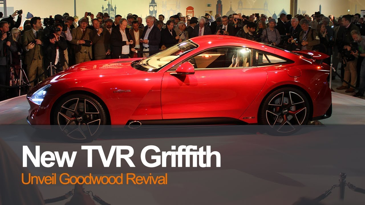 tvr unveil all new griffith at goodwood revival youtube. Black Bedroom Furniture Sets. Home Design Ideas