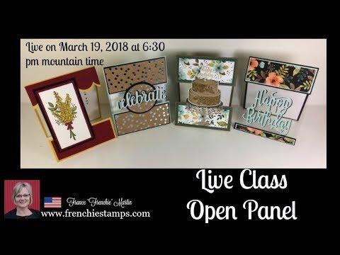Open Panel Card Class
