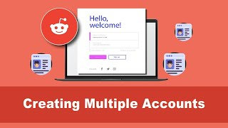 How to create mulтiple accounts on Reddit