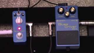 Boss Blues Driver Vs Clone - Mooer Blues Mood Overdrive Pedal Comparison
