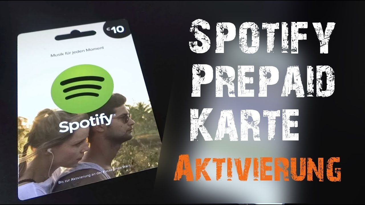 Spotify Karte Kaufen Schweiz.Spotify Prepaidkarte Aktivieren Spotify Premium