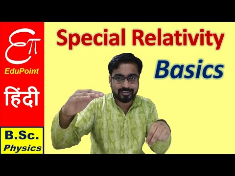 Theory of SPECIAL RELATIVITY - Basics | explained in HINDI