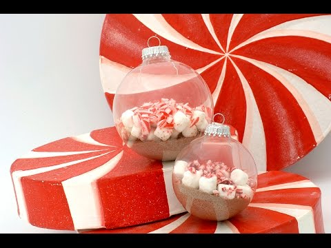 How to Make a Hot Cocoa Christmas Ornament - YouTube