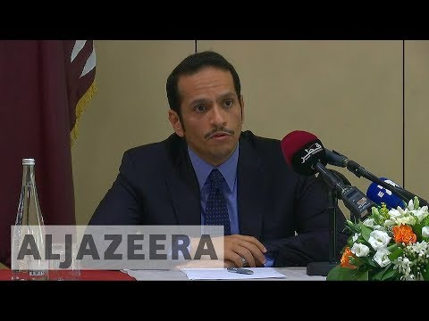 Qatar: Saudi-led bloc's demands 'made to be rejected'