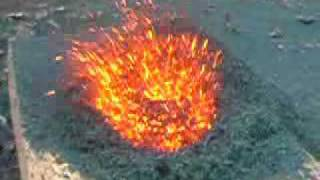 Wonderful Chemistry: Volcano ((NH4)2 Cr2O7) Reaction
