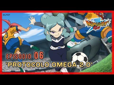Inazuma Eleven Go Chrono Stones -Episodio 6 español «¡Protocolo Omega 2.0!»