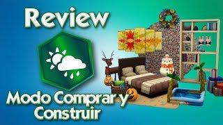 REVIEW - Los Sims 4 Y Las Cuatro Estaciones | MODO COMPRAR Y CONSTRUIR