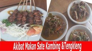 INI AKIBAT MAKAN SATE KAMBING & TENGKLENG [Indonesian Food from Solo]