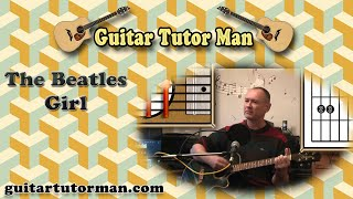 Girl - The Beatles - Acoustic Guitar Lesson