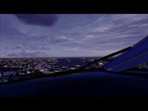 Jet Blue Landing in Long Beach