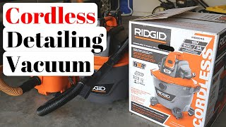 Have I Found My New Mistress in a RIDGID Cordless Vacuum? Maybe...
