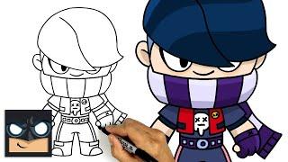 How To Draw Edgar | Brawl Stars