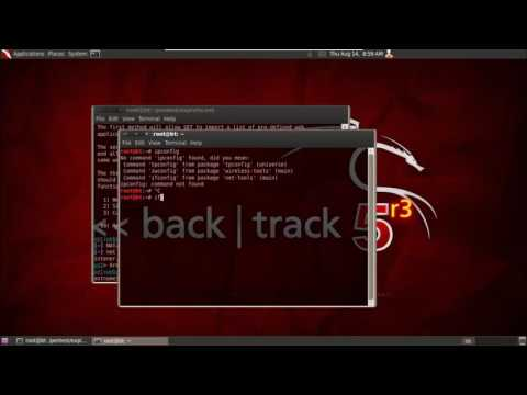 [Learn Hacking Using Backtrack 5]  Social Engineering Attack Via Backtrack