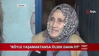 """Yaşlı Kadının Feryadı Yürek Dağladı: """"Ölsek Daha İyi"""""""