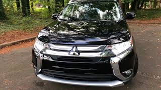 2017 Mitsubishi Outlander 2.4L SEL 2WD 4 Door SUV Best Detailed Walkaround
