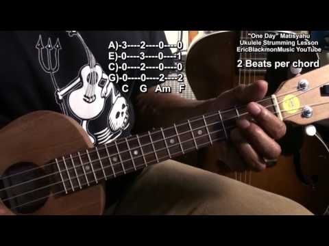 Download How To Play One Day Matisyahu On Ukulele Lesson